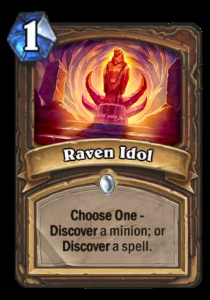 Raven Idol Card