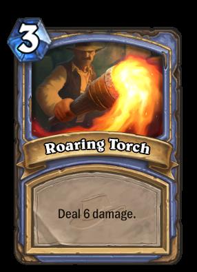 Roaring Torch Card