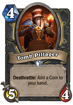 Tomb Pillager Card