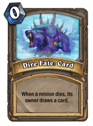 Dire Fate: Card Card