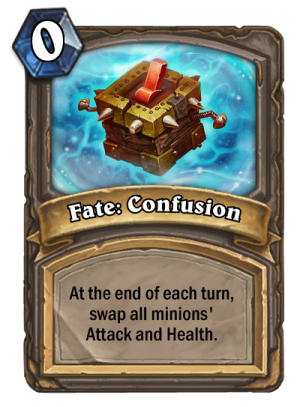 Fate: Confusion Card