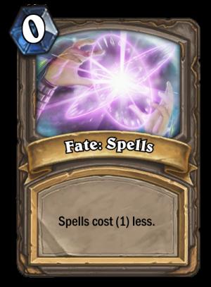 Fate: Spells Card