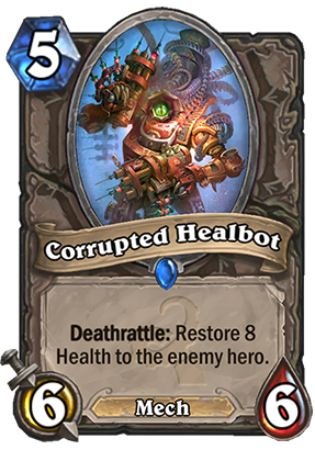 Corrupted Healbot Card