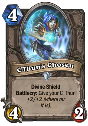 C'Thun's Chosen Card