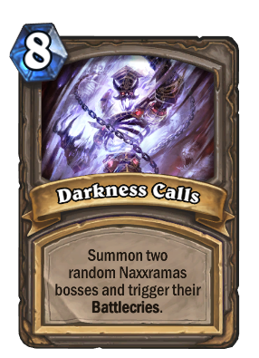 Darkness Calls Card