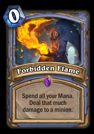 Forbidden Flame Card