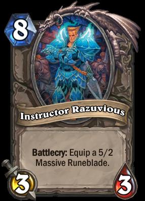 Instructor Razuvious Card