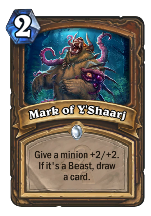 Mark of Y'Shaarj Card