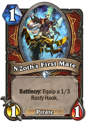N'Zoth's First Mate Card