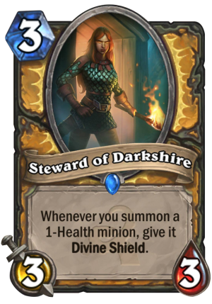 Steward of Darkshire Card
