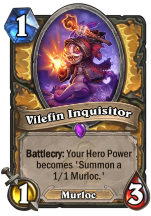 Vilefin Inquisitor Card