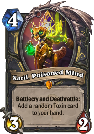Xaril, Poisoned Mind Card