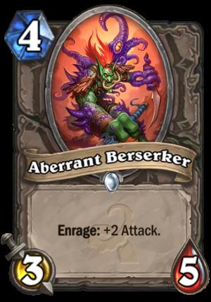 Aberrant Berserker Card