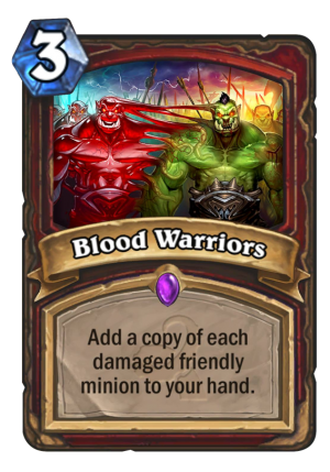 Blood Warriors Card