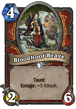 Bloodhoof Brave Card