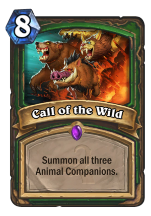 Call of the Wild Card