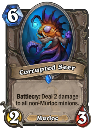 Corrupted Seer Card