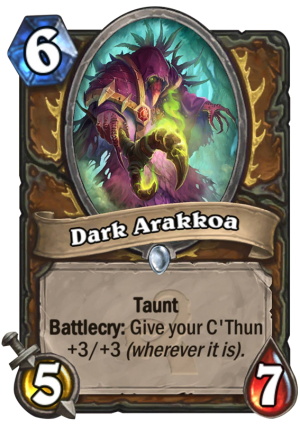 Dark Arakkoa Card