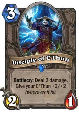Disciple of C'Thun Card