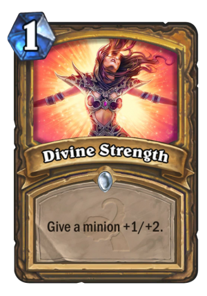 Divine Strength Card