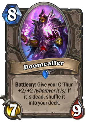 Doomcaller Card