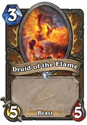 Druid of the Flame (Fandral) Card