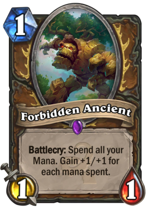 Forbidden Ancient Card