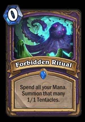 Forbidden Ritual Card