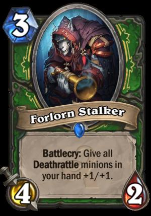 Forlorn Stalker Card