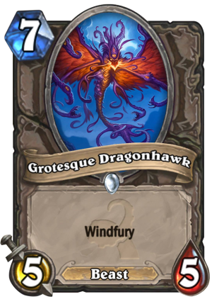 Grotesque Dragonhawk Card