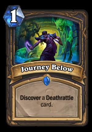 Journey Below Card