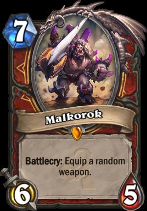 Malkorok Card