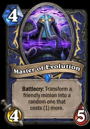 Master of Evolution Card