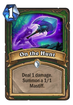 On the Hunt Card