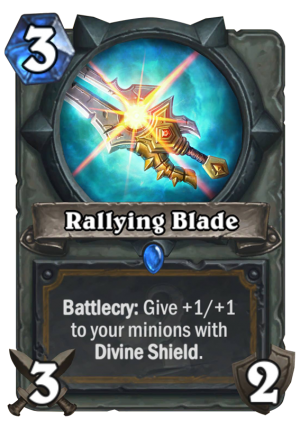 Rallying Blade Card