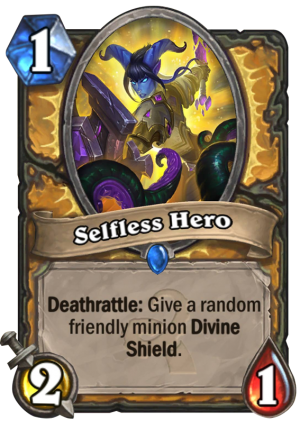 Selfless Hero Card