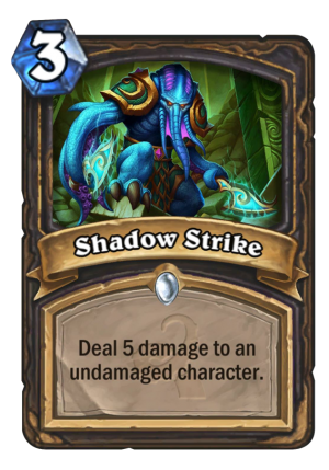Shadow Strike Card