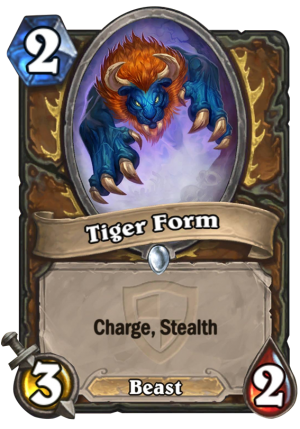 Tiger Form (Fandral) Card