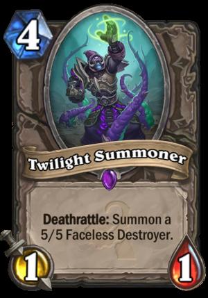 Twilight Summoner Card