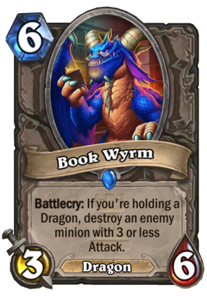 Book Wyrm Card