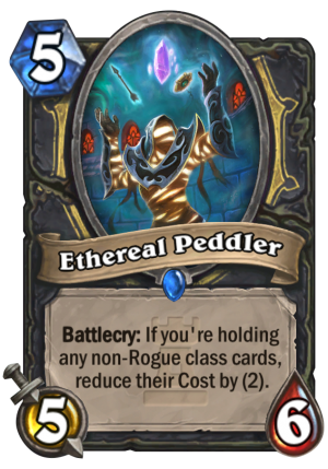 Ethereal Peddler Card