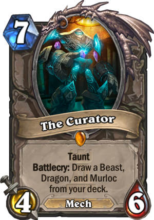 The Curator Card