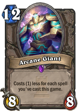 Arcane Giant Card