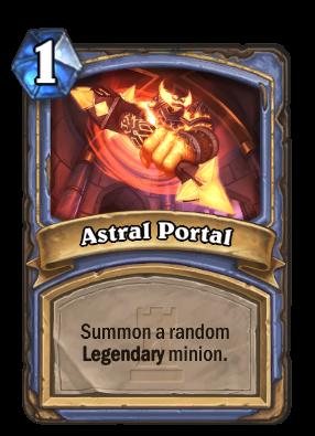 Astral Portal Card