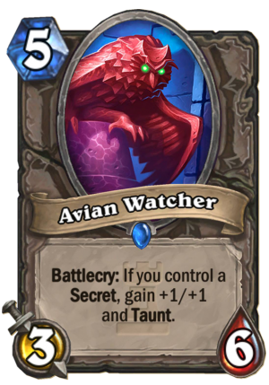 Avian Watcher Card