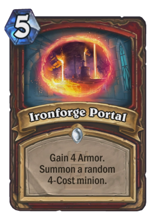 Ironforge Portal Card