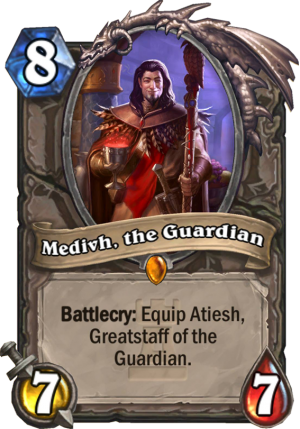 Medivh, the Guardian Card