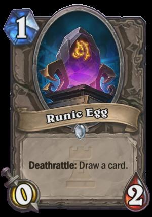 Runic Egg Card
