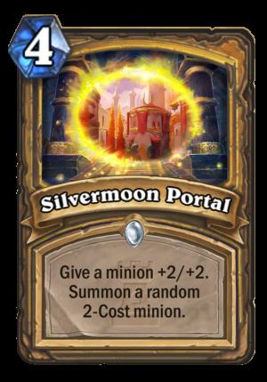 Silvermoon Portal Card