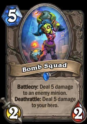 Bomb Squad Card